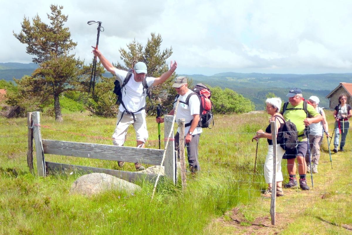 L'association Ceyrat Boisséjour Nature en randonnée