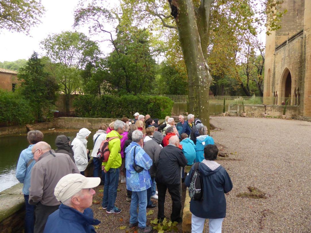 Visite de l'abbaye de Valmagne (octobre 2016)