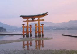 le torii de l'ile de Miyajima