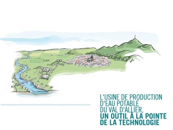 usine de production d'eau potable