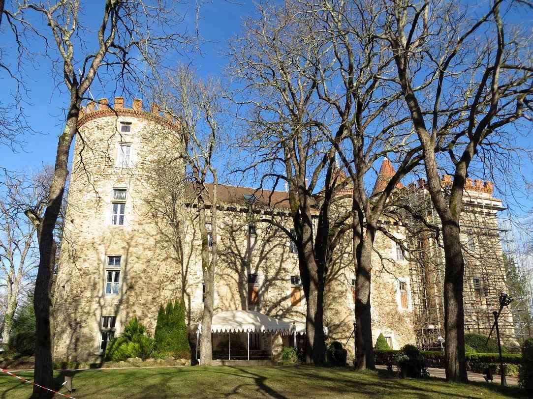 le château de Codegnat (31 janvier 2018)