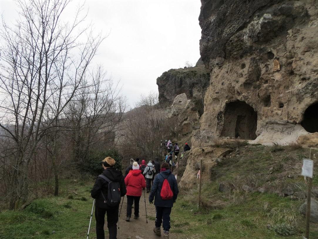 les grottes de Perrier (21 février 2018)