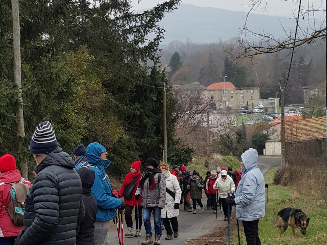 boucle au départ de Monton (22 février 2018)