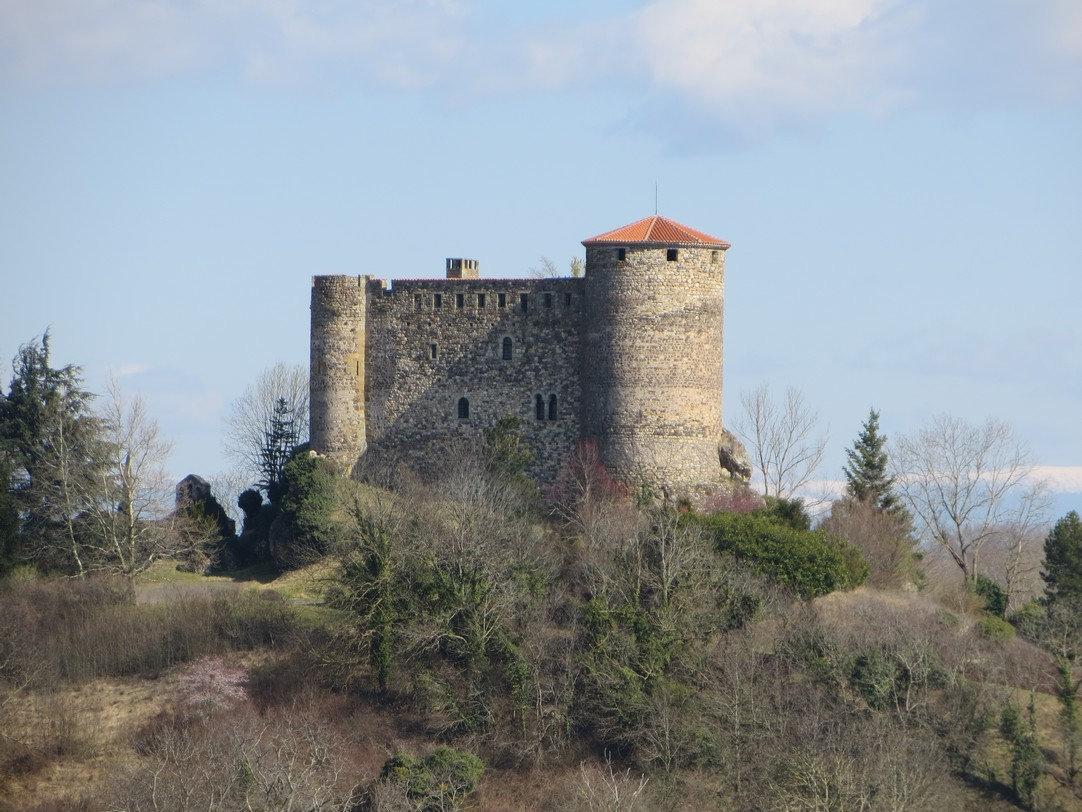 le château de Busséol (21 mars 2018)