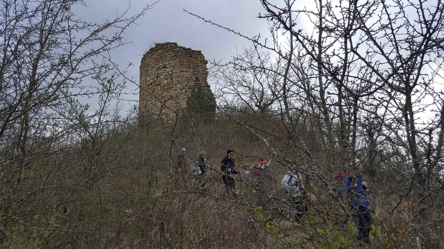 la tour de Gévillat (Parentignat, 28 mars 2018)