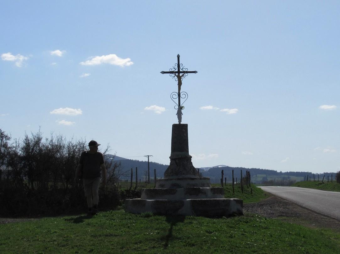une croix d'Aurières (18 avril 2018)