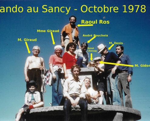 Rando au Sancy - octobre 1978