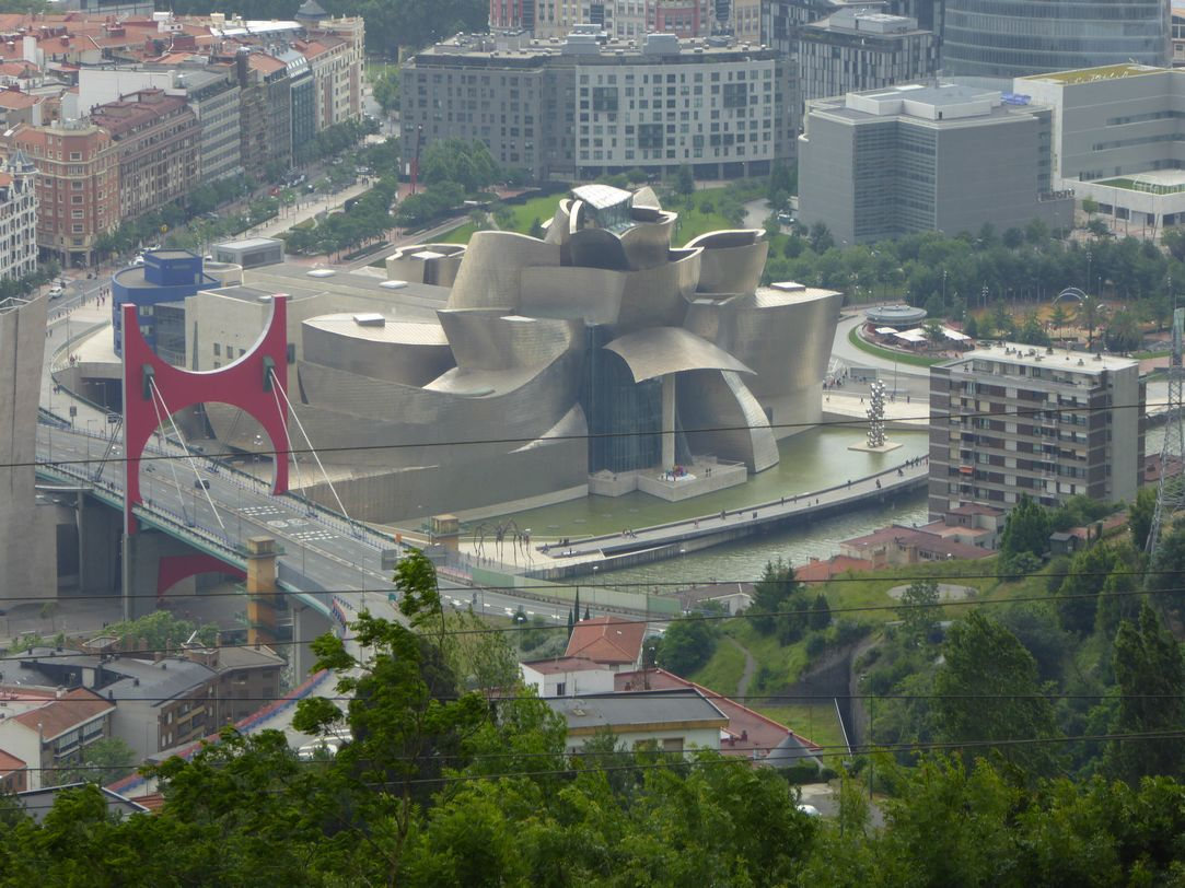 Bilbao : montée en funiculaire