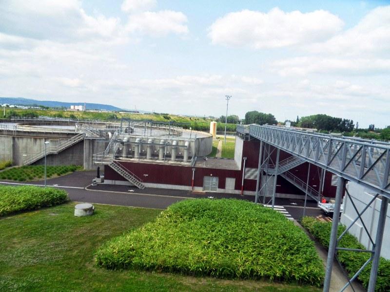 Visite de la station d'épuration (Aulnat, 22 mars 2013)