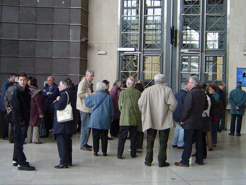 Visite de l'Hôtel du Département (Clermont Ferrand, 26 février 2009)