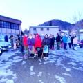 Février 2012 Raquettes et Tripe + Mars Visite de l entreprise Echalier