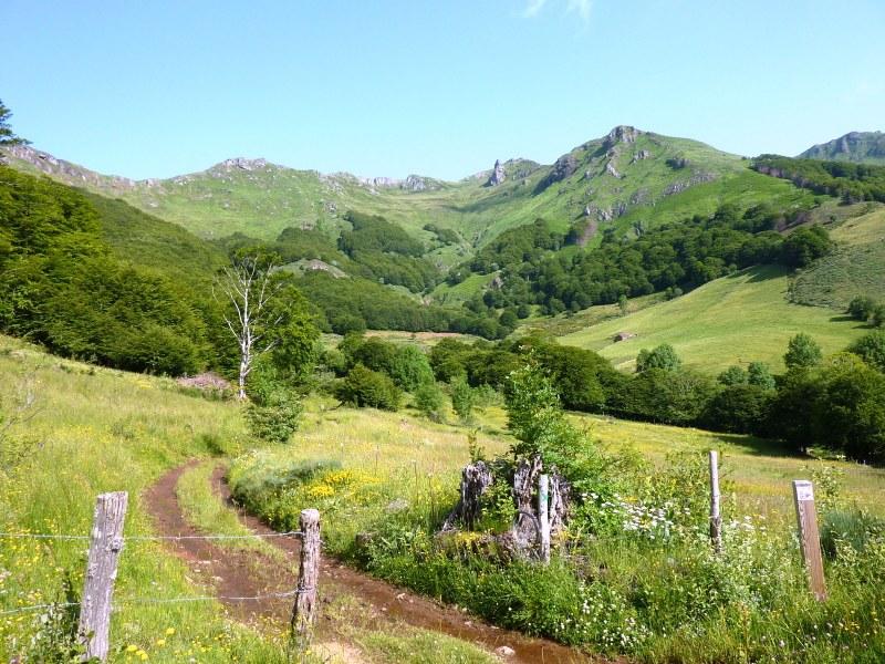 Randonnées dans la vallée de Mandailles ( juin 2012)