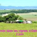 Juin 2012 Journées vignes Dallet + Séjour Mandailles