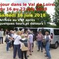 Juin 2018 : Séjour Val de Loire