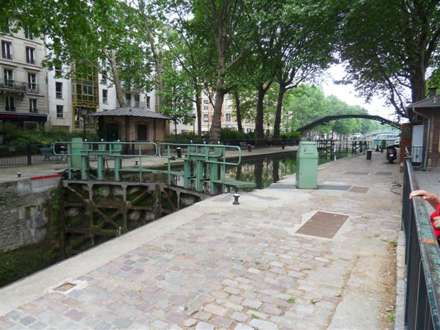 Traversée de Paris de la Villette à Montsouris (juin 2010)