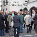 Octobre 2008 Visite de Montferrand