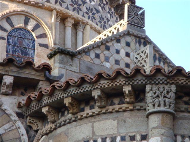 Visite de Notre Dame du Port (Clermont Ferrand, octobre 2009)